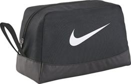 NIKE Rucksack Nike Club Team Swsh Toiletry, schwarz (Black/White), 27 x 16 x 16 cm, BA5198-010 - 1